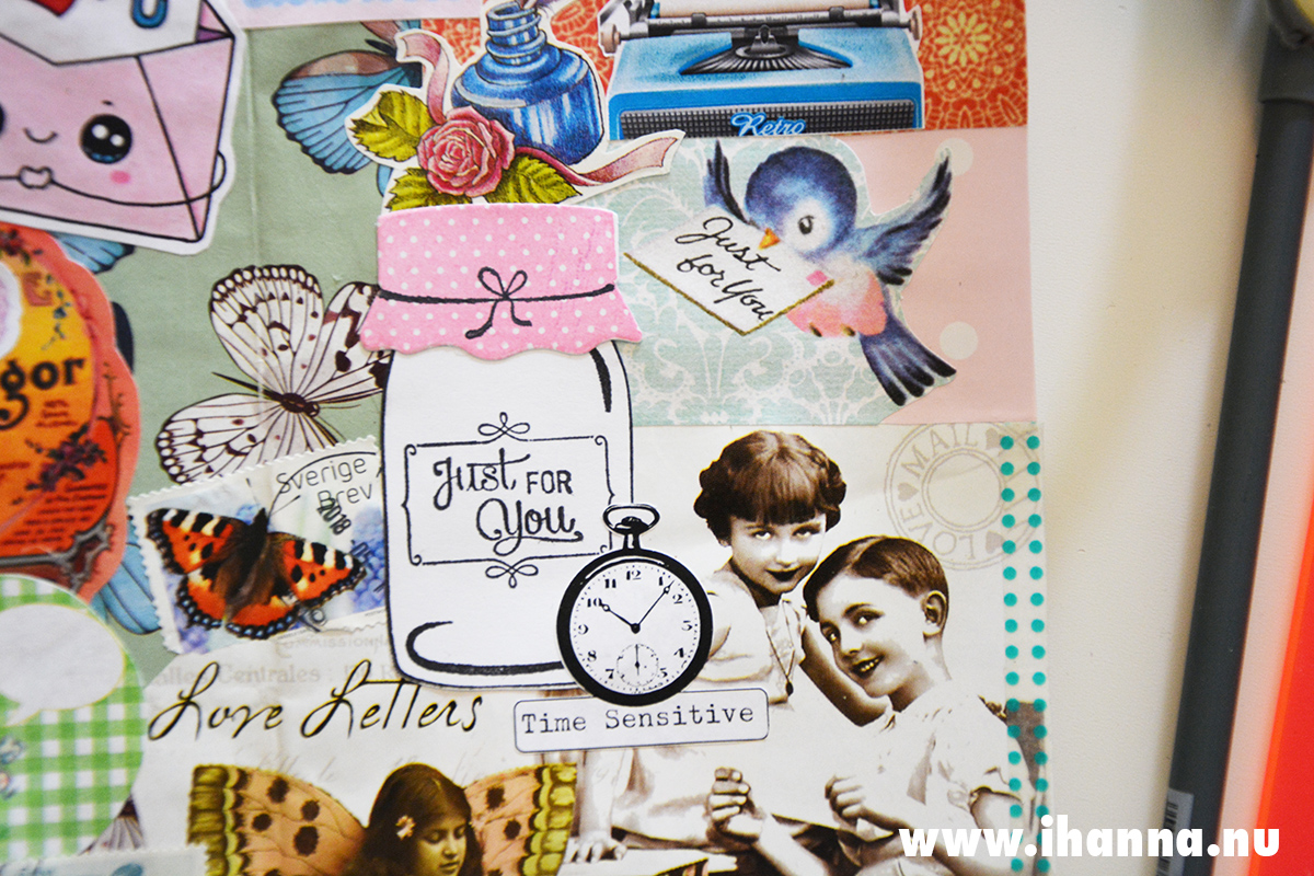 Art Journal detail Just for you by iHanna