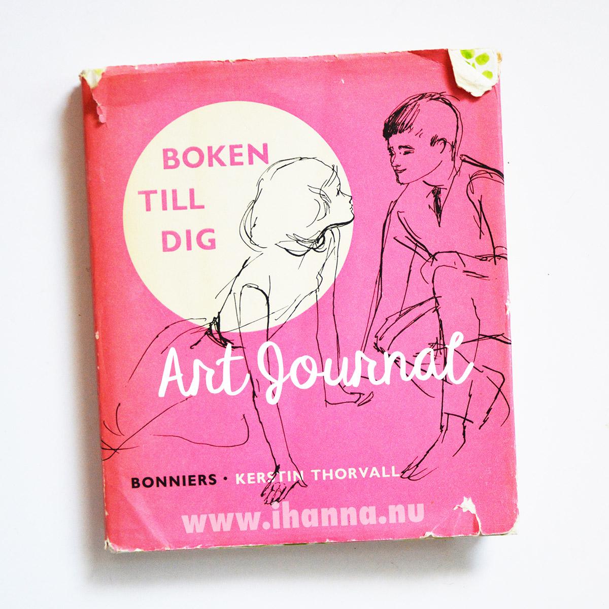 Boken till dig altered into an iHanna Art Journal