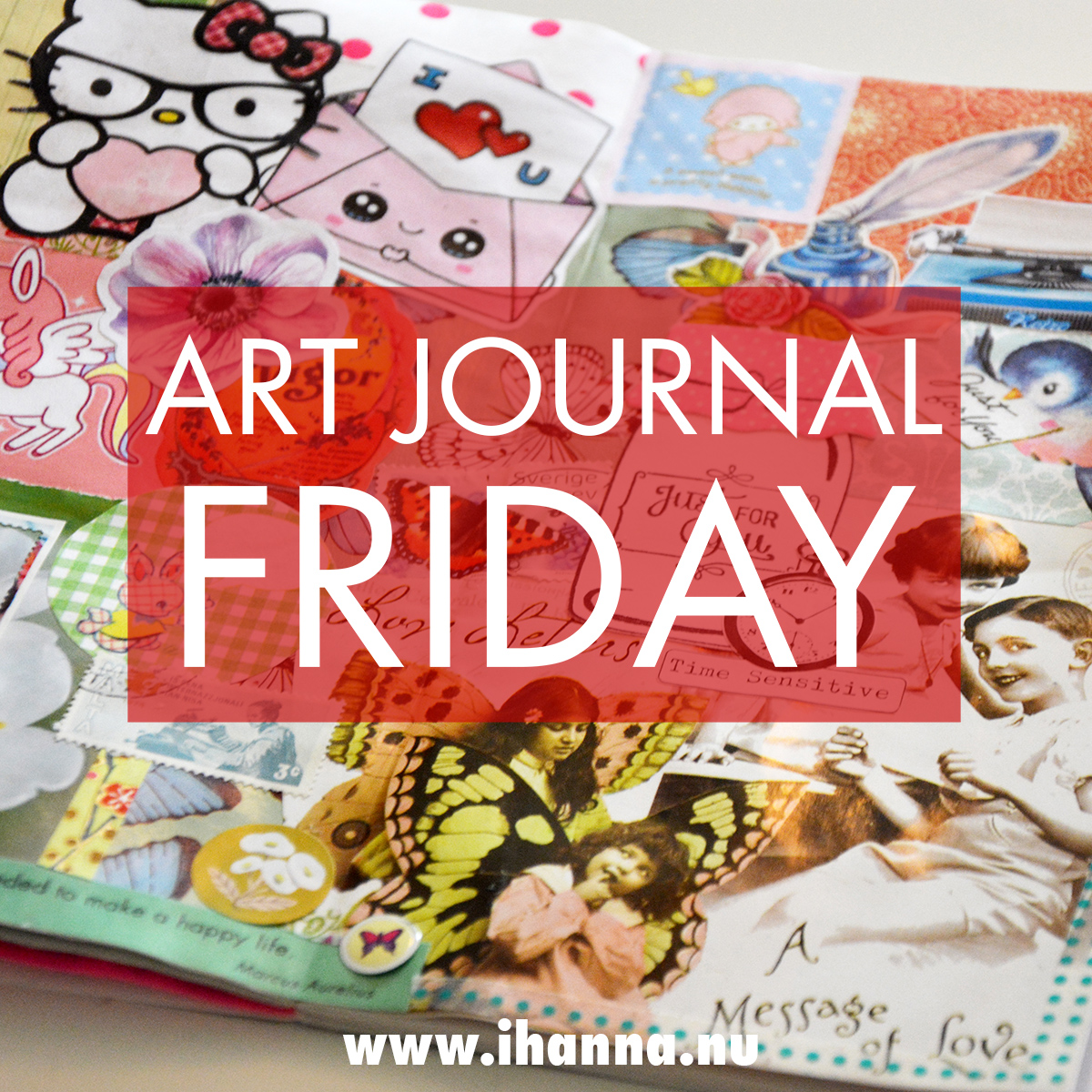 Art Journaling Friday