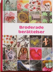 Swedish embroidery book Broderade berättelser