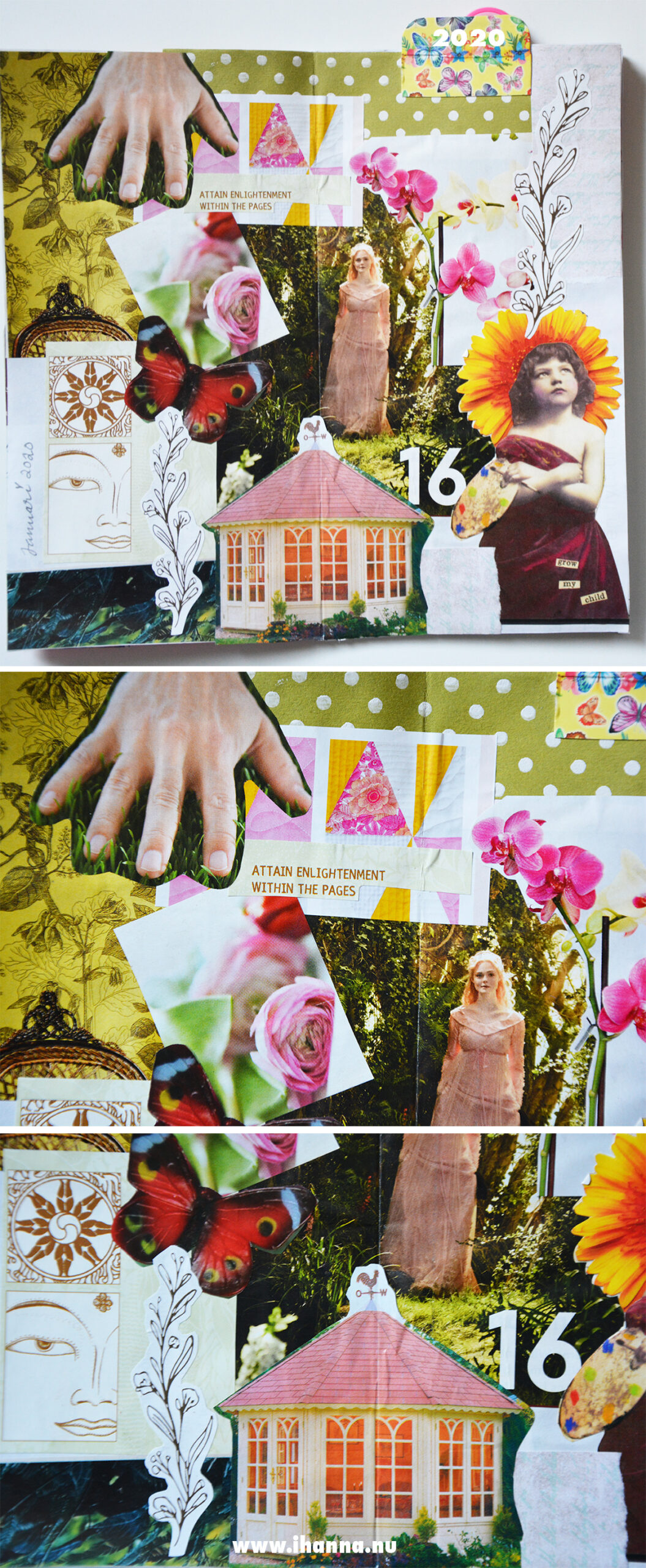 Longing for spring [collage time with iHanna]