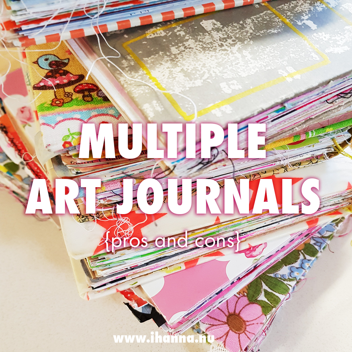 Working in multiple Art Journal volumes