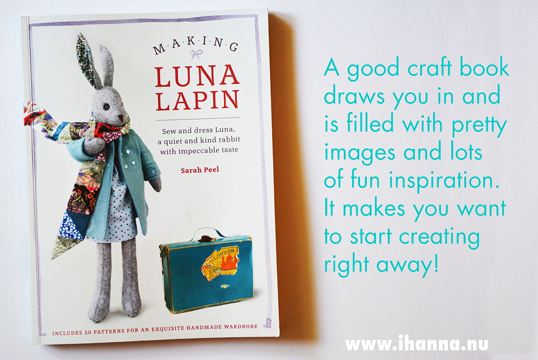 Making Luna Lapin book
