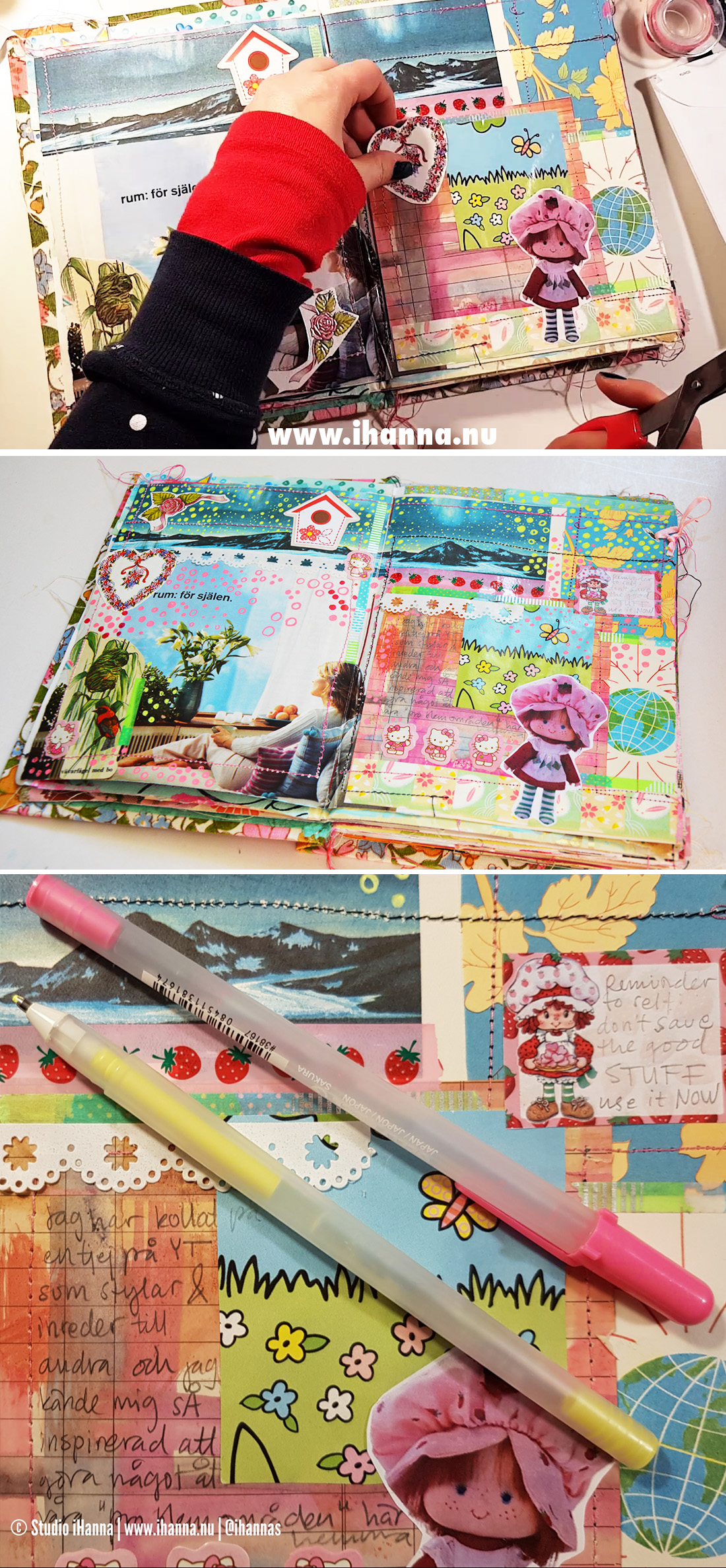 Junk journaling: room for the soul