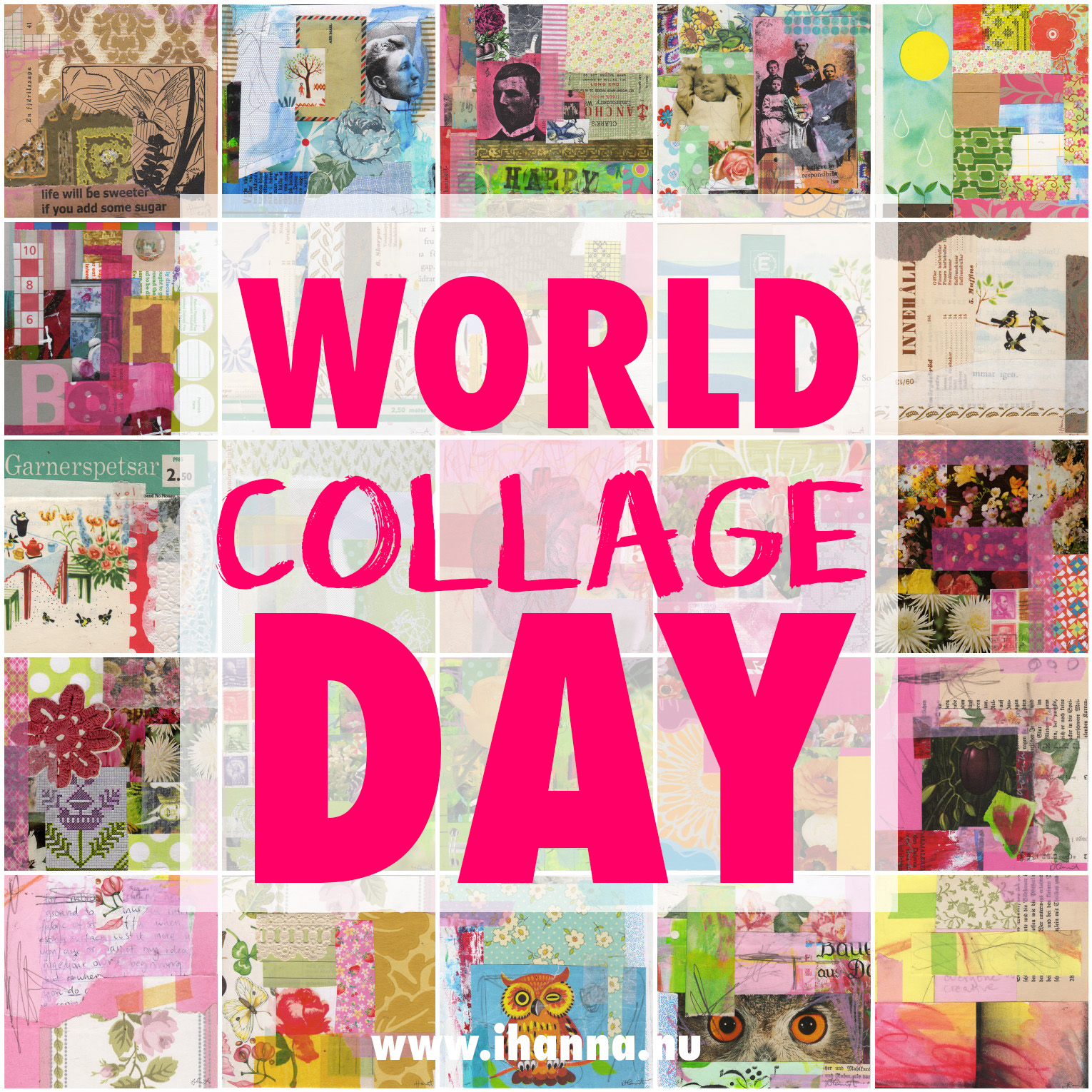 World Collage Day is in May