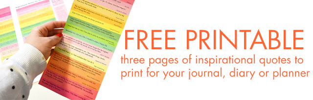 Free printable download when you join iHannas Newsletter