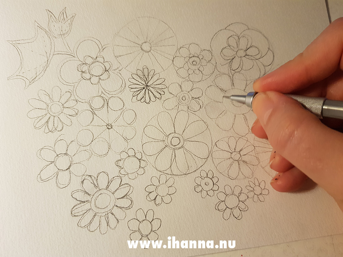 Starting my doodles by iHanna