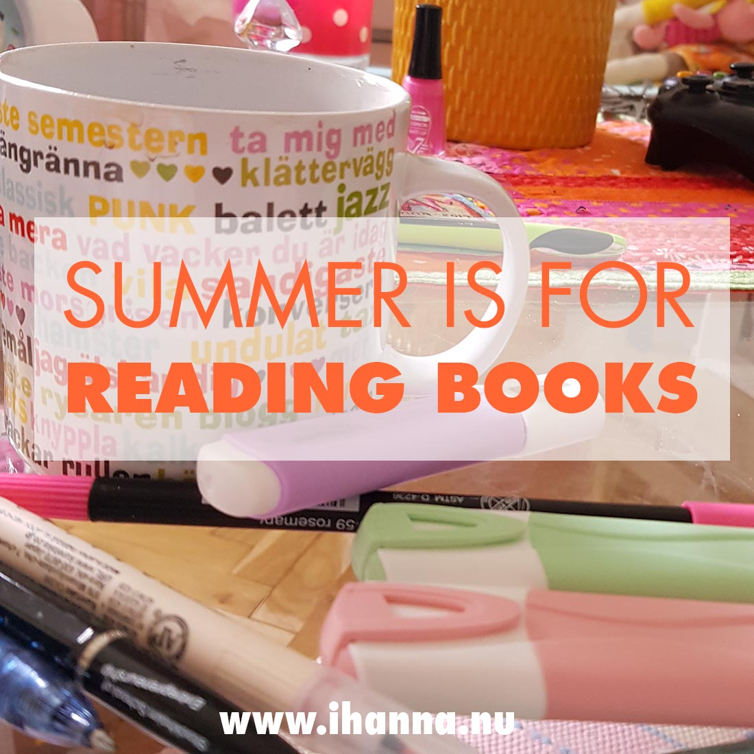 Summer is for Reading {Fantasy} Books