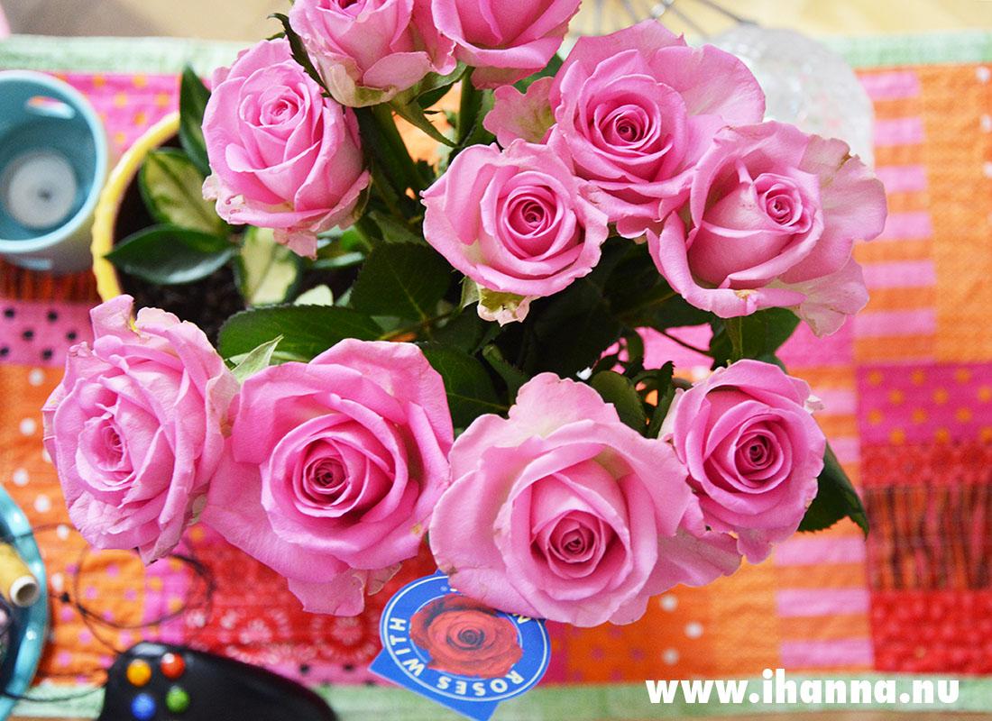 Birthday roses for iHanna