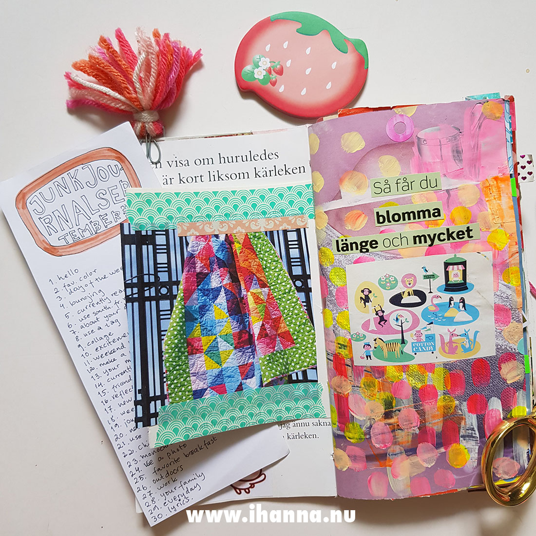 Travelers Notebook size Junk Journal made by iHanna