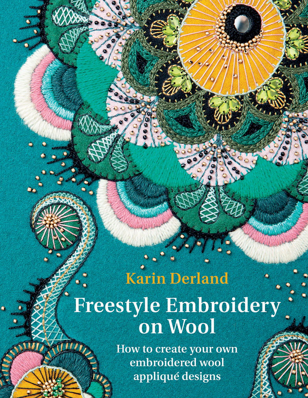 Freestyle Embroidery on Wool book cover image