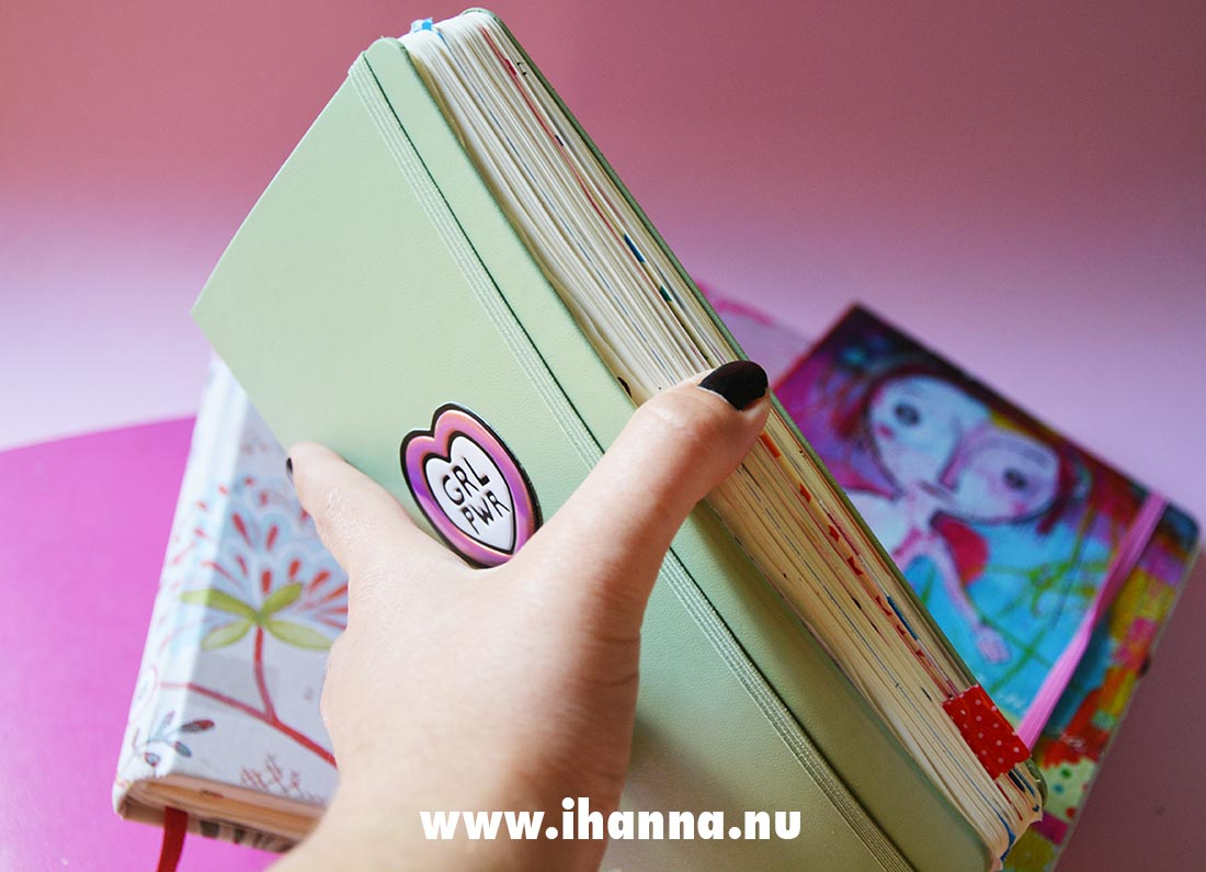 iHanna's journal and what it is to be friends with your journal