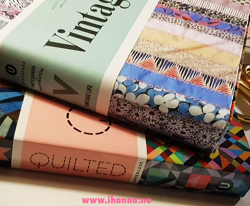 Encyclopedia of Inspiration video book review on Vintage life and Quilted