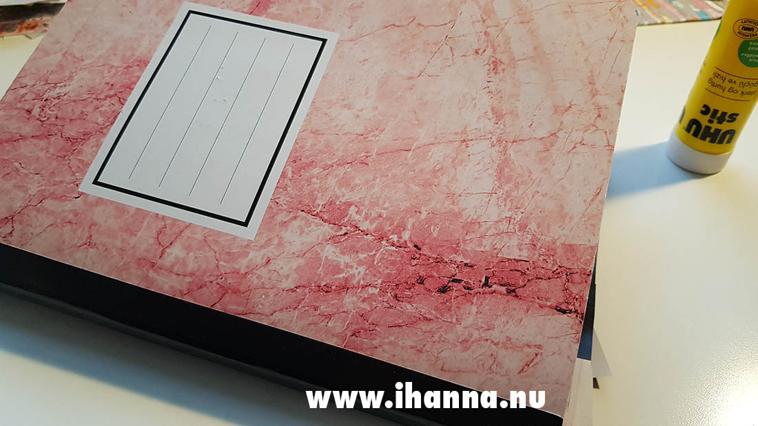 Composition notebook from Tiger of Scandinavia