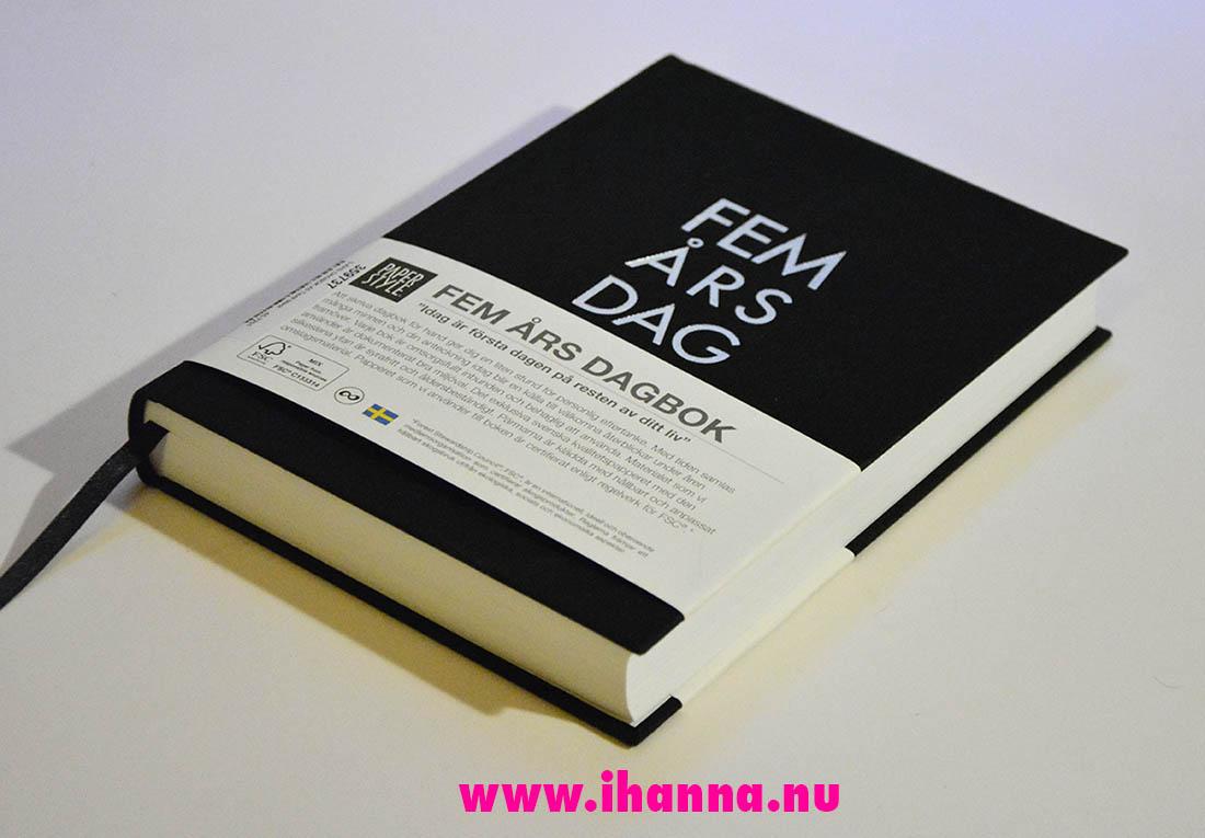 iHanna's Five Year Diary Femårsdagbok 2020