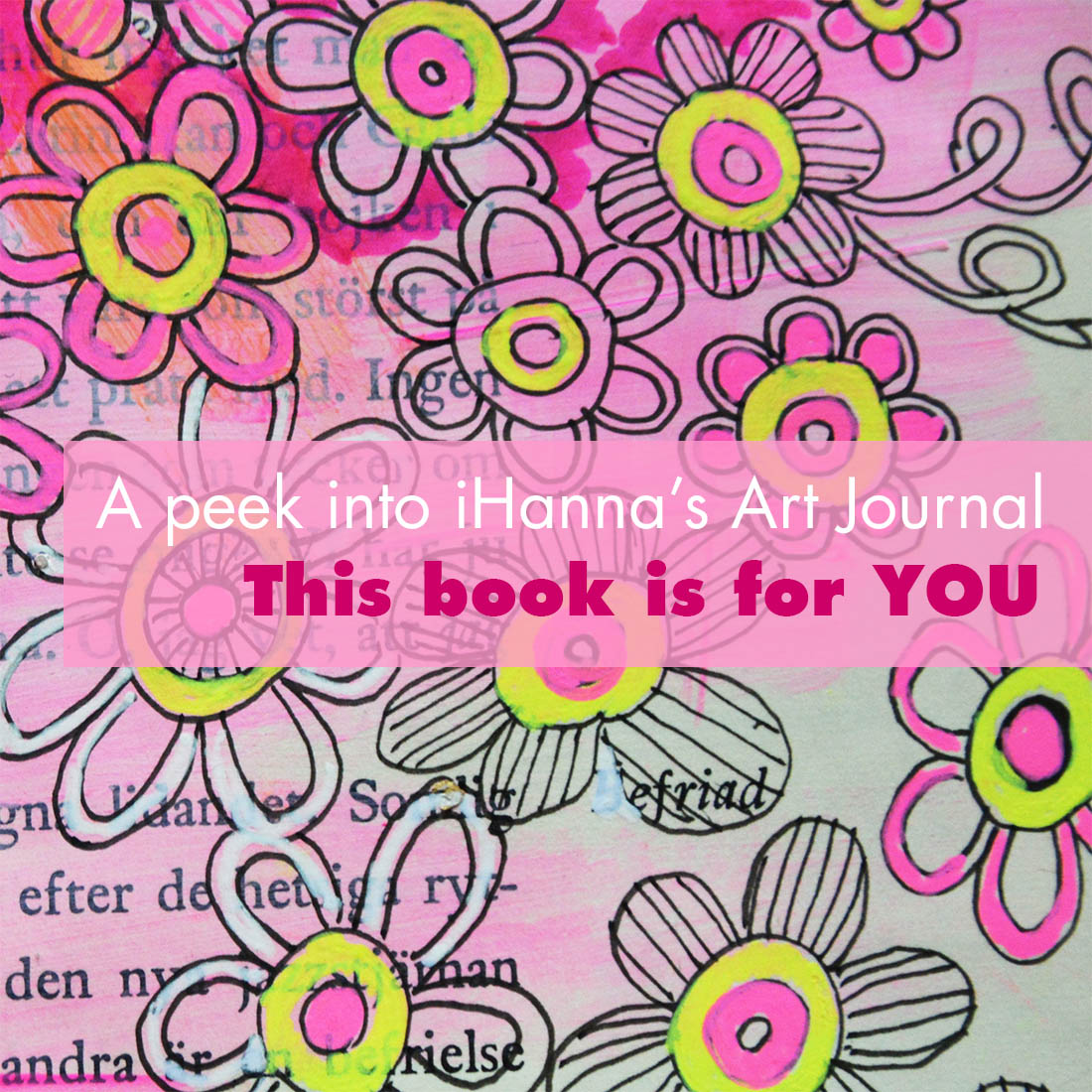 Art Journal Peek: This book is for you Hanna