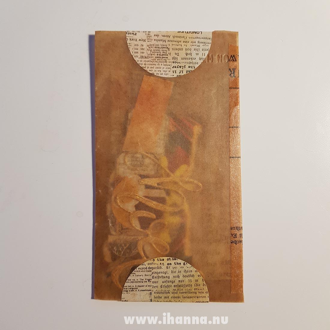 Happy mail mini envelope from Franca Maria to iHanna