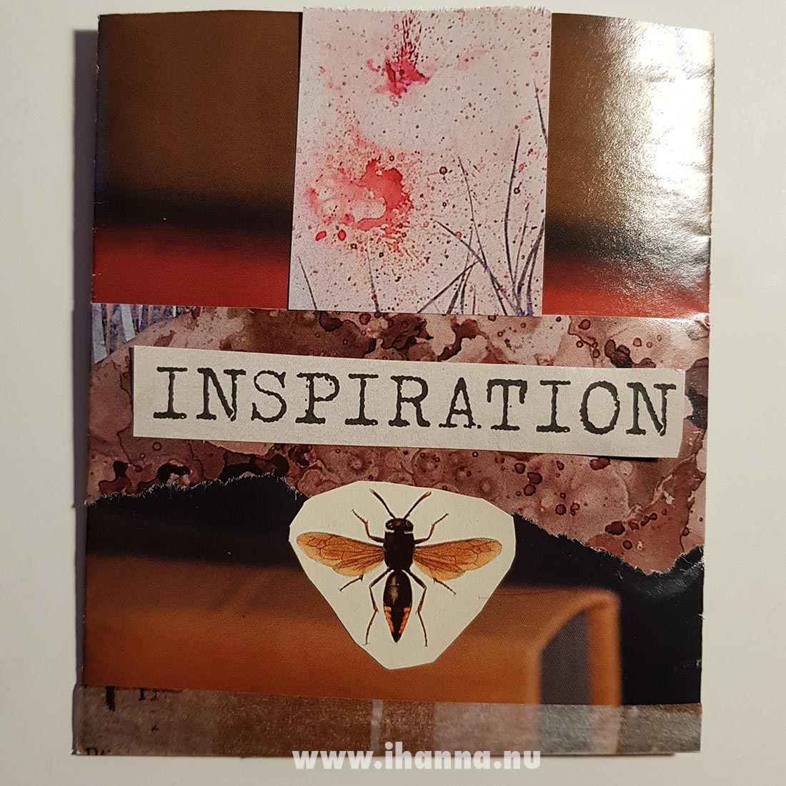 Inspiration Happy mail mini envelope from Franca Maria to iHanna