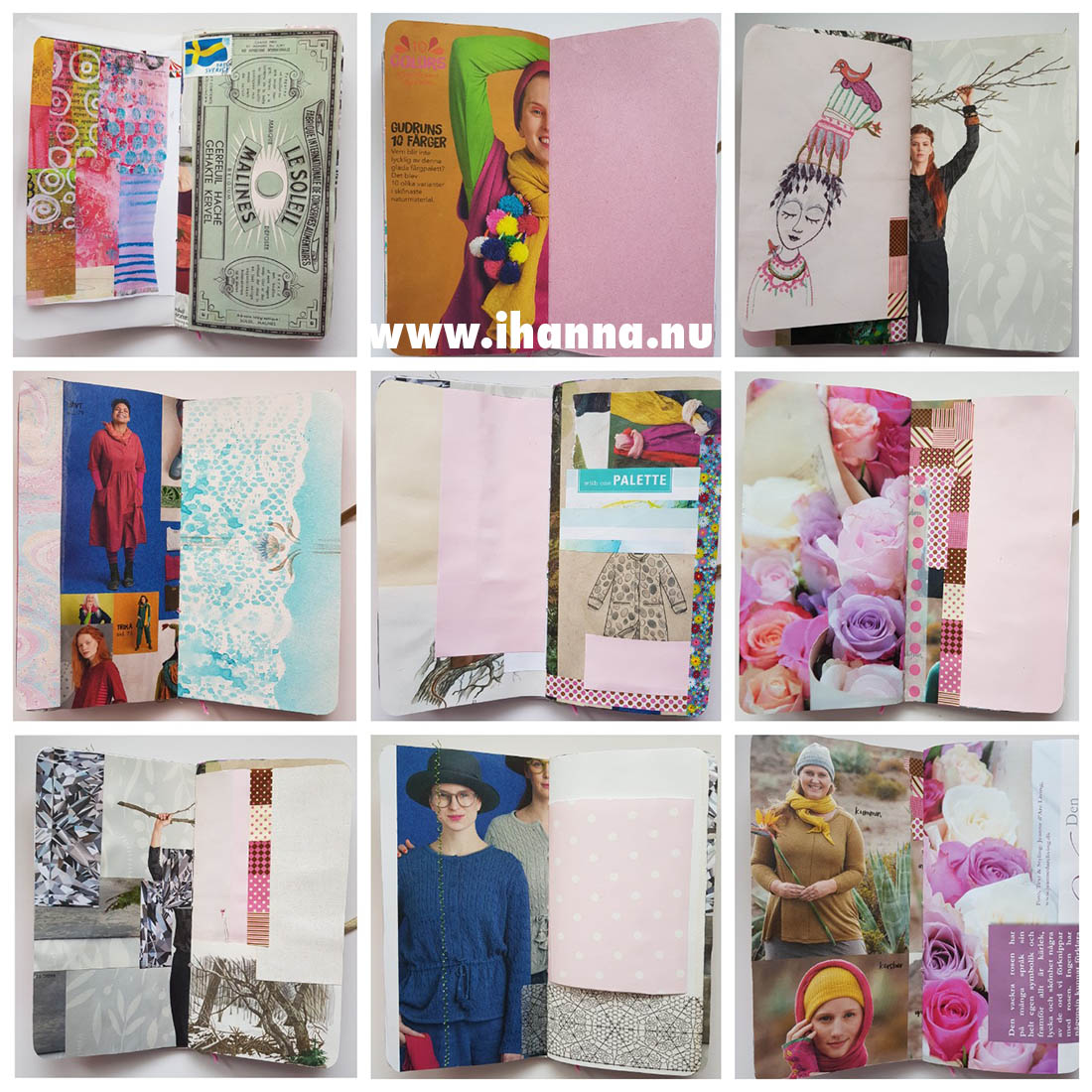 Junk Journal no 002 for sale by Studio iHanna Shop #junkjournal