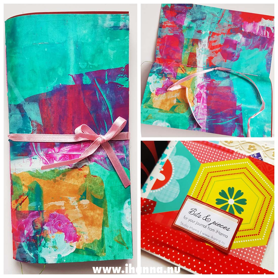 Cover of Junk Journal no 03 made by iHanna