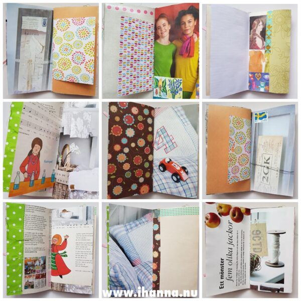 Pages in the Junk Journal no 05 for sale in iHanna's Shopkjournal005_pages