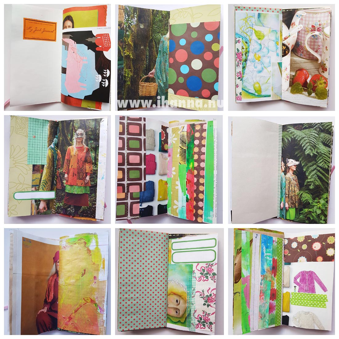 Some pages from Junk Journal no 006 #junkjournal