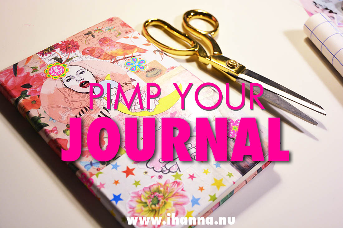 Pimp your journal cover with collage process video