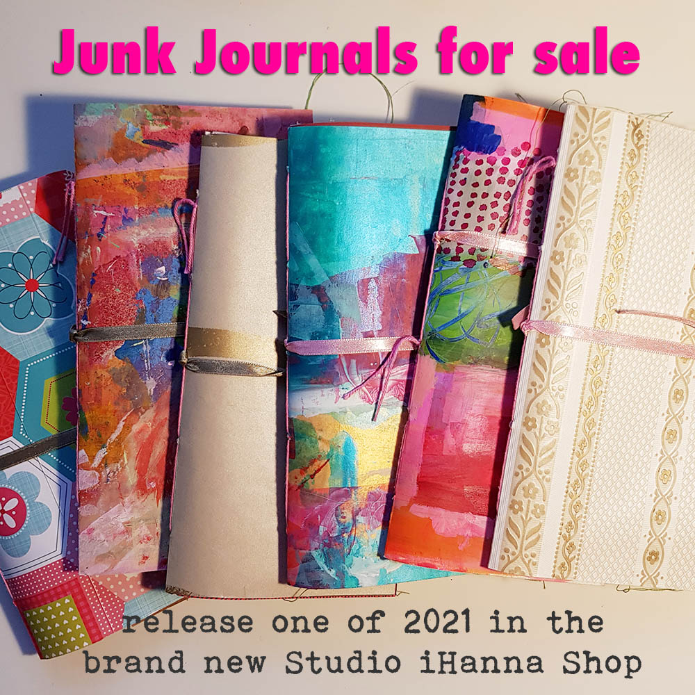 Junk journal release January 2021 by iHanna