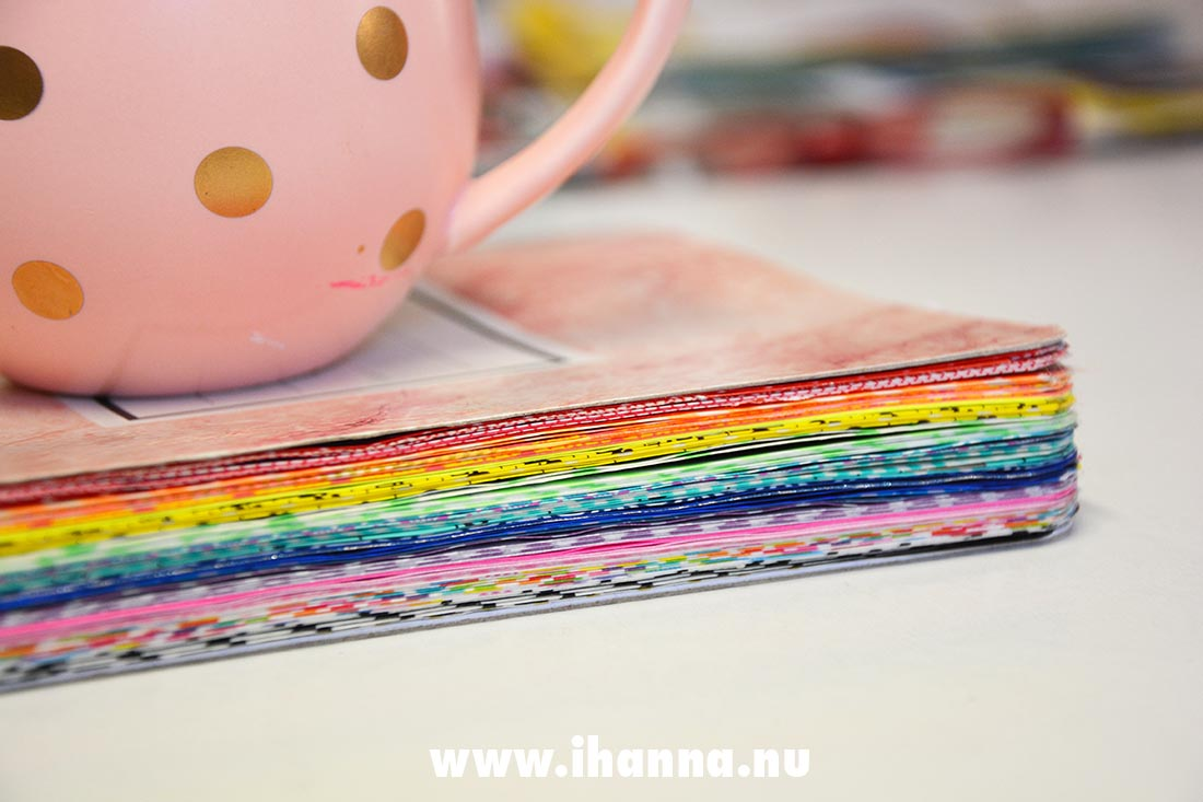 Washi tape edges by Studio iHanna, Sweden #gluebook