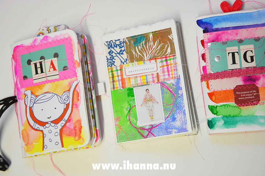 Spring Challenge: Fill a Tiny Journal with Hanna and Tammy