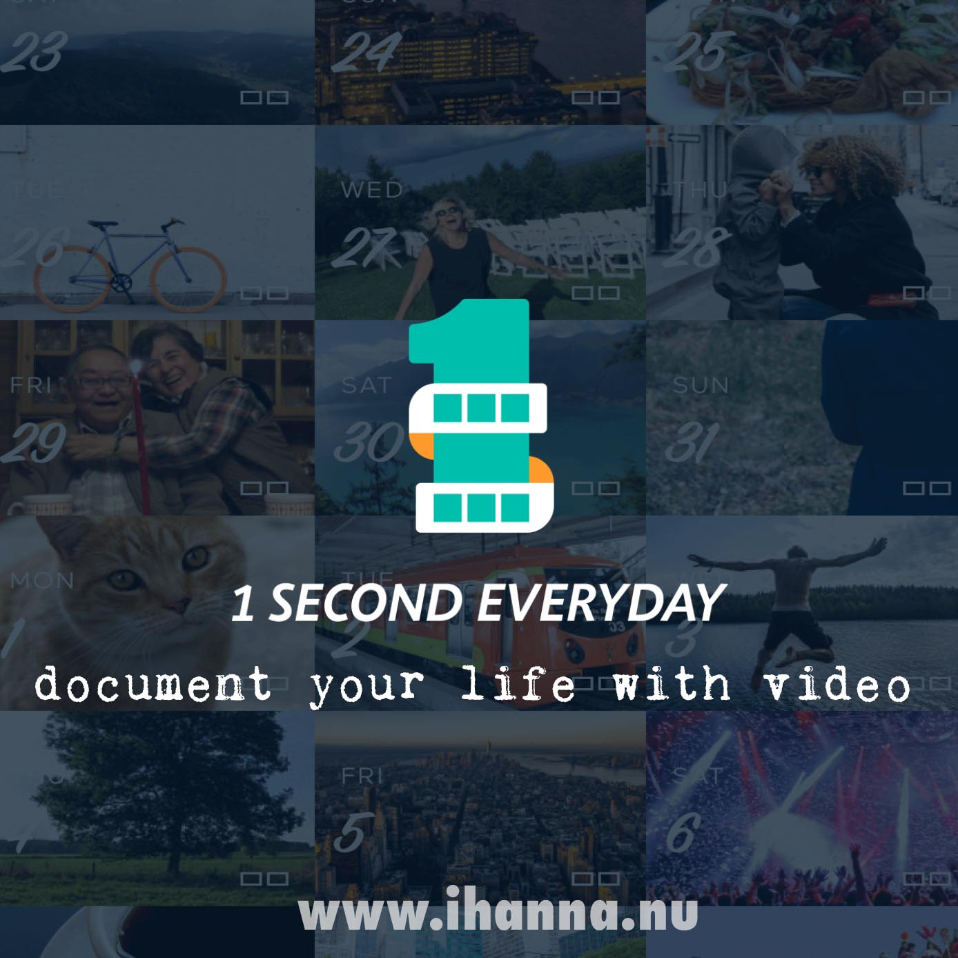 Video Journal - Document one second of your day everyday with this app - blog post by Hanna Andersson