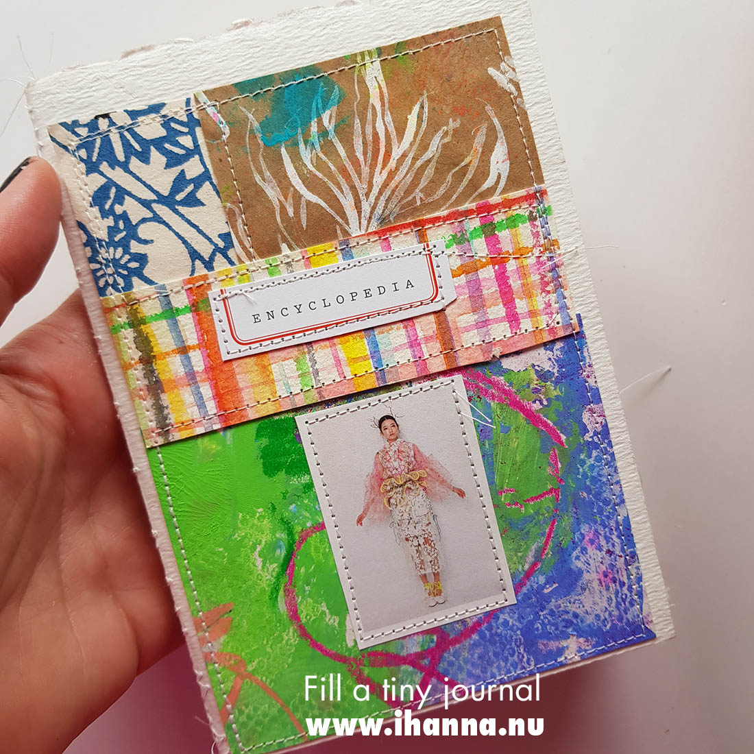 Fill a tiny journal: Heart