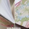 Details of the Sweet Notebook with grid paper inside – hand-made by Hanna Andersson
