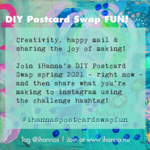 Join iHanna's AWESOME DIY Postcard Swap now! #ihannaspostcardswap