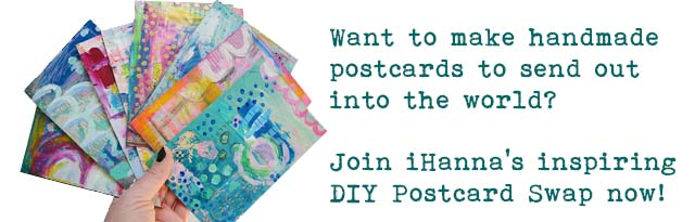 Join the DIY Postcard Swap now
