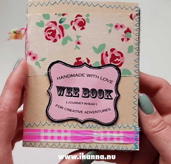 Wee book 5: Journey Ahead – made by Hanna Andersson