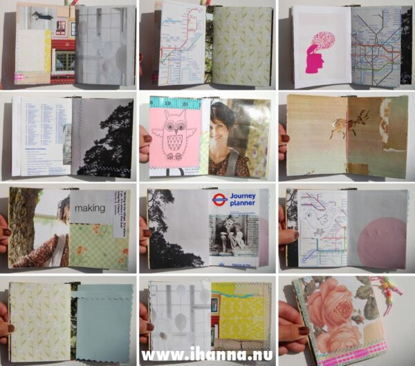 Spreads in the Wee book 5: Journey Ahead – made by Hanna Andersson