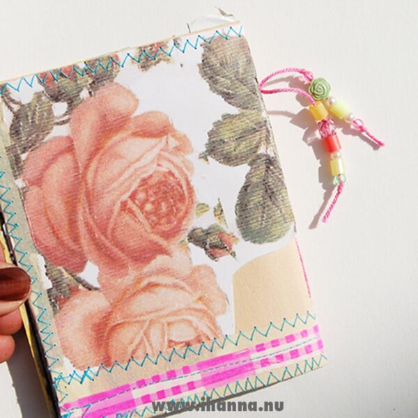 Backside of the Wee book 5: Journey Ahead – made by Hanna Andersson