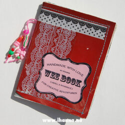 Wee book 4: Vanilla Romance - made by Hanna Andersson