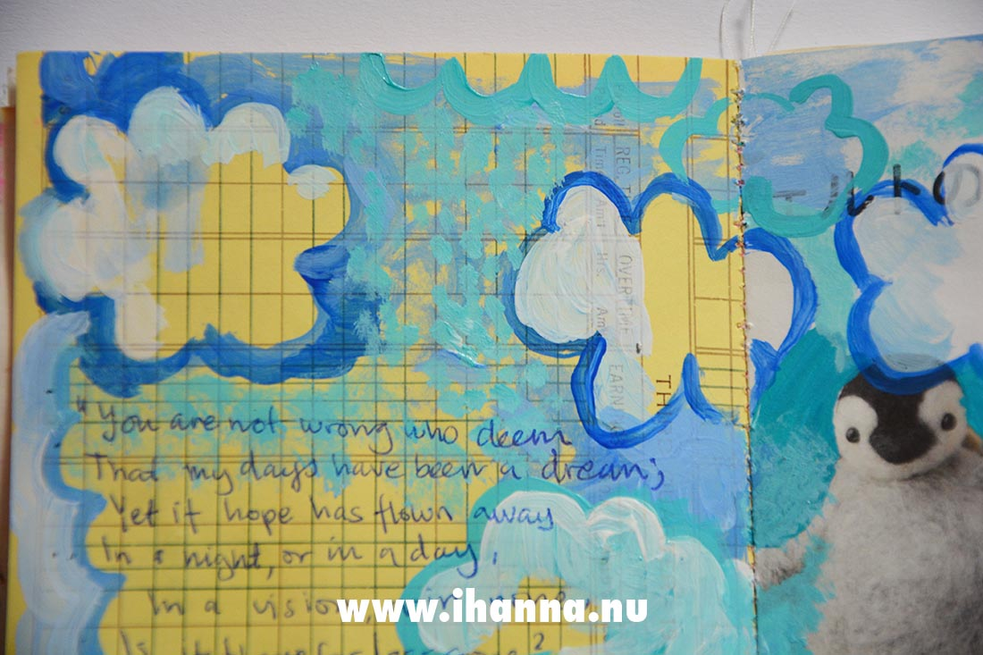 Fill a tiny journal with the prompt dream by iHanna #fillatinyjournal