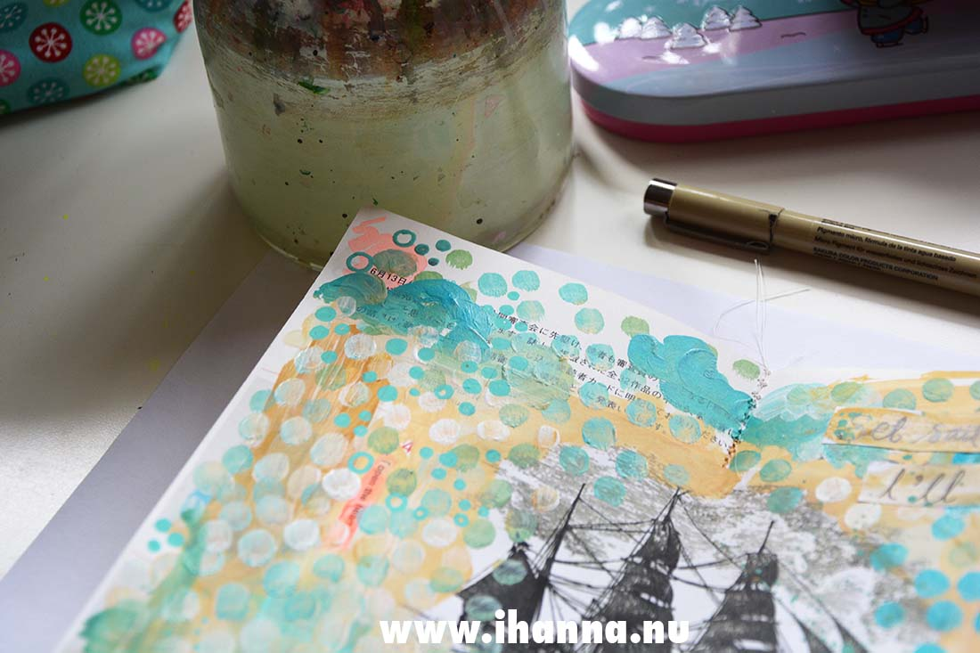 Fill a tiny journal by iHanna : prompt friendship #fillatinyjournal