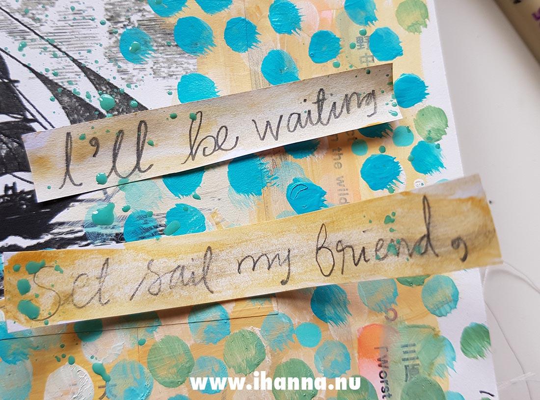 Fill a tiny journal : prompt friendship #fillatinyjournal
