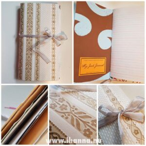 Details of the cover for Junk journal no 23 | iHanna's journal release 3 2021