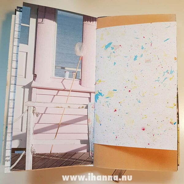 Spread in Junk journal no 23   iHanna's journal release 3 2021
