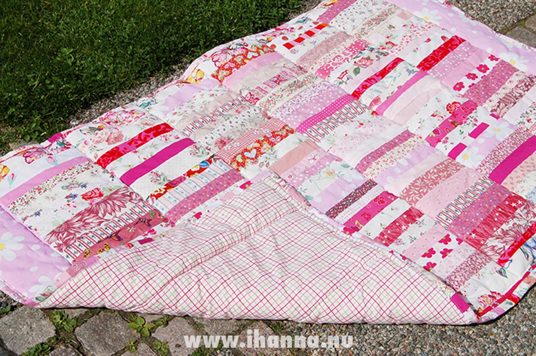 iHanna's Pink Quilt made in 2008