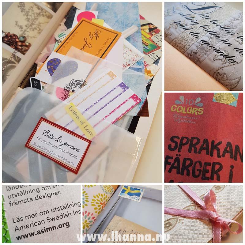 Details of Junk journal no 22 | Studio iHanna's shop journal release 3 2021