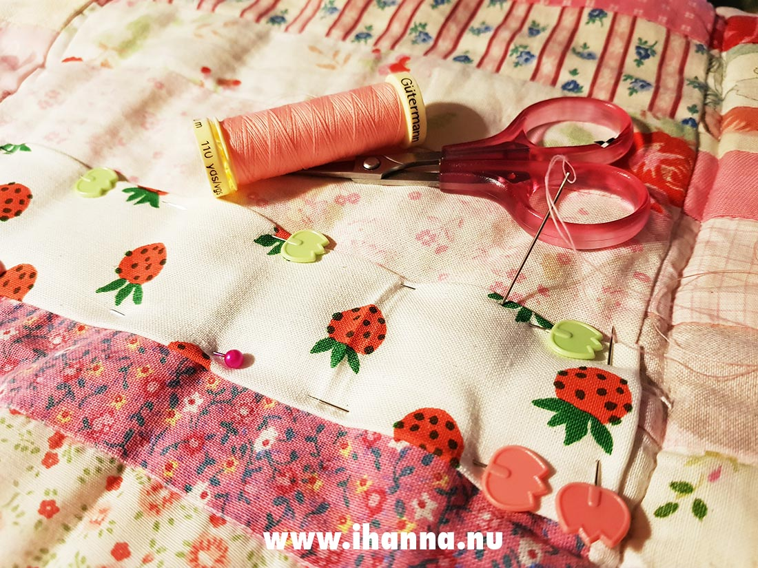Textile Love: Mending a quilt