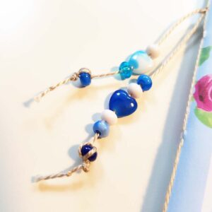 Bead dangle of doodle book with blank pages | journal 24 in iHanna's Journal release 3 2021