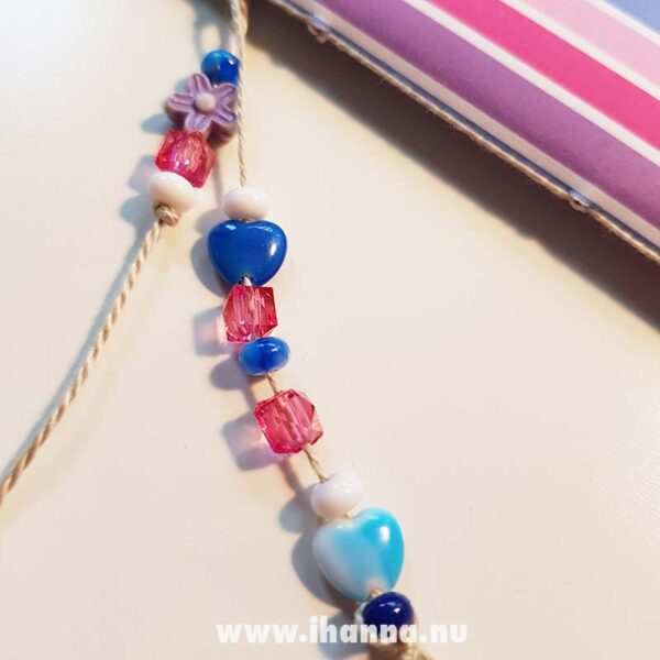 Bead dangle of doodle book with blank pages | journal 27 of 27 in iHanna's Journal release 3 2021