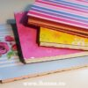 Four cute doodle books (A6 size) made by Hanna Andersson, Studio iHanna